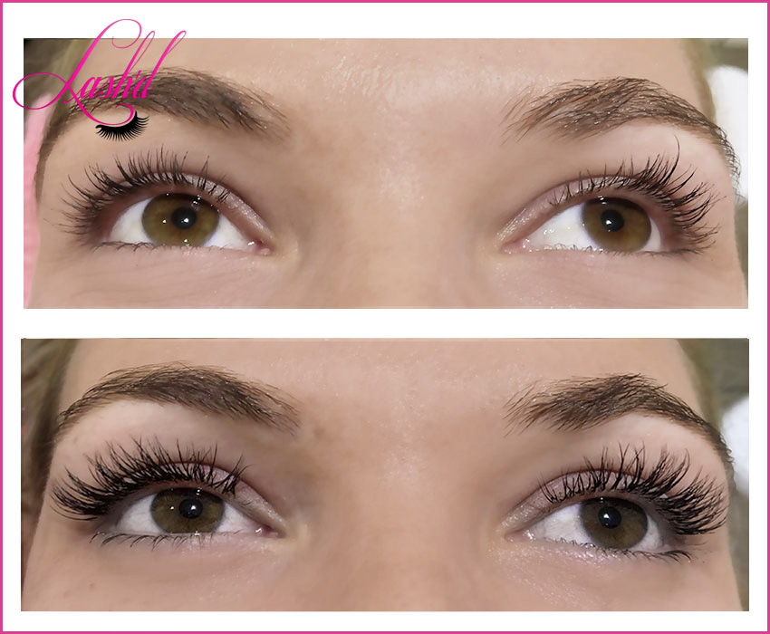 eyelash extensions by Tracey